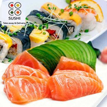 Hot Deal - Coco Sushi - Thuong Thuc Sashimi, Sushi, Bento Tempura, dessert Dac Trung Am Thuc Nhat Ban