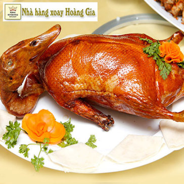 Hot Deal - Vit Quay Bac Kinh - Nha Hang Xoay Duy Nhat Viet Nam (Buoi Toi)