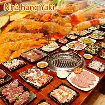 Hot Deal - Buffet Toi BBQ Bo My/ Uc Nuong Khong Khoi – Hai San – Lau – Gan 60 Mon Nha Hang Yaki IV