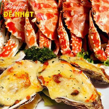 Hot Deal - Buffet Toi De Nhat Tren 60 Mon Viet, A, Au, Lau + Mien Phi Nuoc Uong