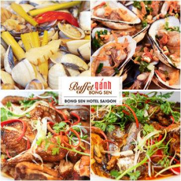 Hot Deal - Buffet Ganh Trua Tai Khach San Bong Sen