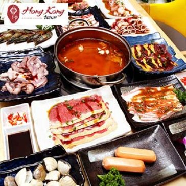 Hot Deal - Buffet Trua Lau, Hai San & Bo My, Free Nuoc Ngot – Hongkong Town SC Vivo City