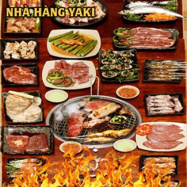 Hot Deal - Buffet Trua BBQ Bo My/ Uc - Hai San - Lau Gan 60 Mon Tai Nha Hang Yaki IV