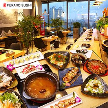 Hot Deal - Buffet Toi Sushi Va Lau Nhat Ban Tai Nha Hang Furano Sushi