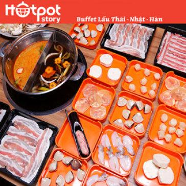Hot Deal - Buffet Goi Mon Lau Thai, Nhat, Han Tai Hotpot Story - Vincom Phan Van Tri