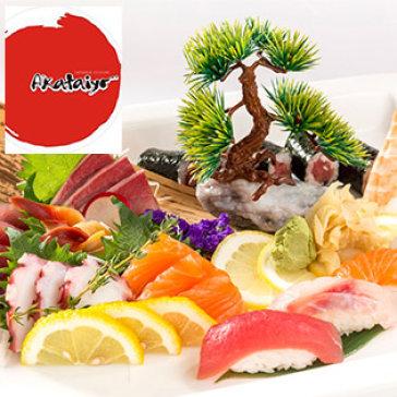 Hot Deal - Buffet Trua/Toi Sashimi, Sushi Va Mon Nuong tai NH Nhat Ban Akataiyo