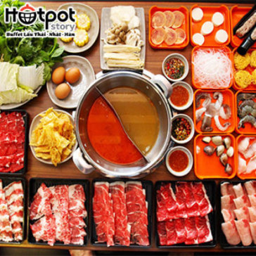 Hot Deal - Buffet Lau Thai, Nhat, Han Tai Hotpot Story _ Hung Vuong