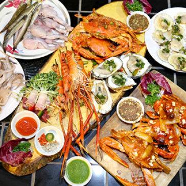 Hot Deal - Buffet Toi BBQ Cua Ghe Tha Ga Khong Gioi Han Tai Nha Hang Krauts