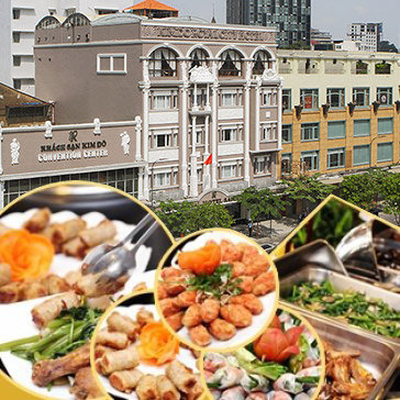 Hot Deal - Buffet Trua Tai Khach san Kim Do – Royal Hotel Saigon 4*