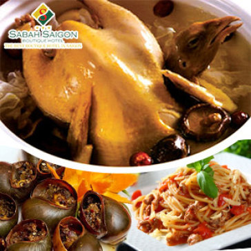 Hot Deal - Buffet Toi Mon Malaysia Tai Sabah Saigon Hotel – Kem Ca Nhac Va Mua Dan Toc