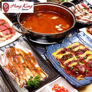 Hot Deal - Buffet Trua Bo My Nuong & Lau Hai San, Free Buffet Kem – Hong Kong Town