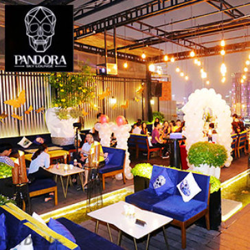 Hot Deal - Kham Pha Sai Gon Ve Dem Voi View Ly Tuong Nhat - Pandora Sky Lounge