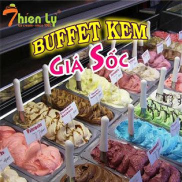 Hot Deal - Buffet Kem Thien Ly - Phuc Vu Tai Ban - Thu 7, CN Khong Phu Thu
