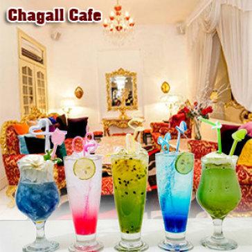 Hot Deal - Selfie Trong Khong Gian Sang Chanh & Kham Pha Toan Menu Thuc Uong Tai Chagall Cafe