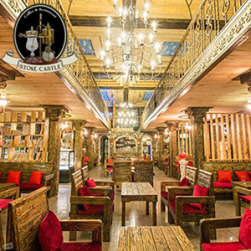 Hot Deal - Cafe Lau Dai Da Dep Nhat Sai Gon, Set Cafe Hoang Gia Bi Cho 4 Nguoi
