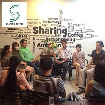 Hot Deal - Sharing Coffee – Ca Phe Event, Sach - Noi Se Chia Lan Toa Nhung Dieu Tot Dep Den Moi Nguoi
