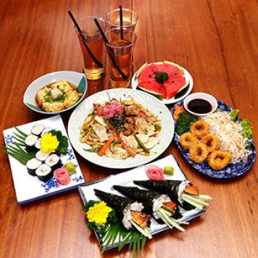Hot Deal - 1 Trong 2 Set Mon Nhat Cho 2-4 Nguoi Tai Haha Sushi