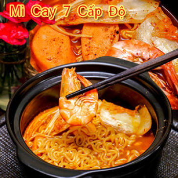 Hot Deal - Mi Cay 7 Cap Do Ngam Pho Di Bo Nguyen Hue - Coffee Sai Gon New