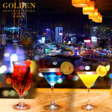 Hot Deal - Combo 2 Ly Cocktail + 1 Phan An Danh Cho 2 Nguoi Tai Golden Central Hotel 4*