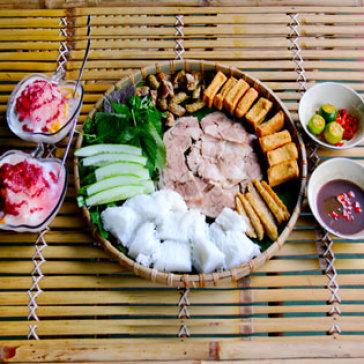 Hot Deal - Combo Bun Dau + 2 Ly Sua Mit Cho 2 Nguoi Tai Quan O Quan Chuong