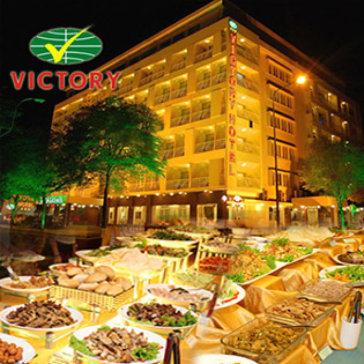 Hot Deal - Buffet Toi Hap Dan 58 Mon Tai Khach San Victory