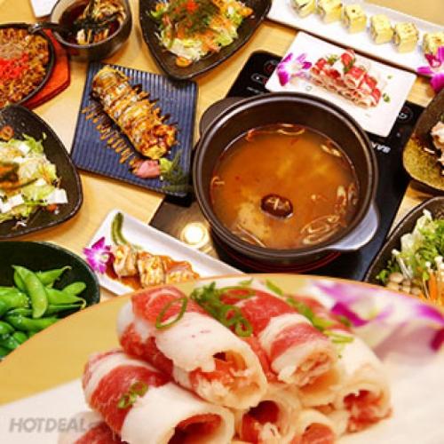 Buffet Tối Sushi Và Lẩu Nhật Bản Tại Nhà Hàng Furano Sushi