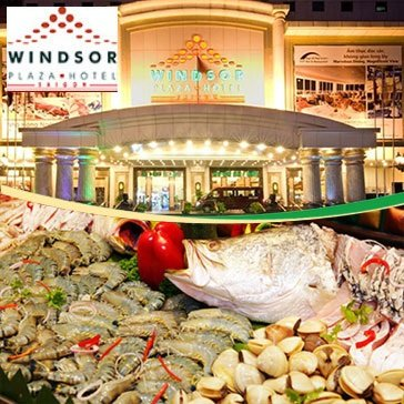 Hot Deal - Windsor Plaza Hotel 5* - International Buffet Trua Thu 7 & Chu Nhat