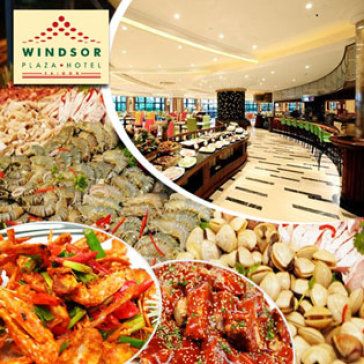 Hot Deal - Windsor Plaza Hotel 5* - International Buffet Trua Tu Thu 2 Den Thu 6