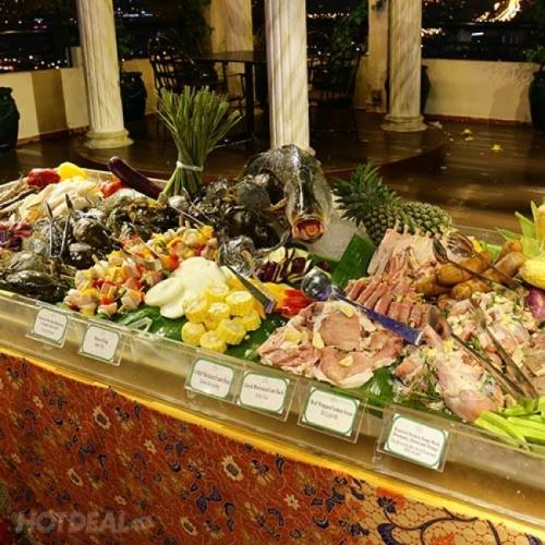 International Buffet BBQ Tối Thứ 7 Hàng Tuần Tại Tầng 25 Windsor Plaza Hotel 5*