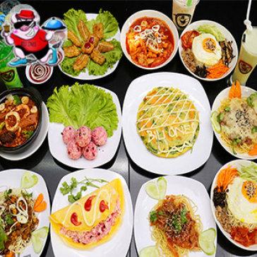 Hot Deal - Set 3 Mon An Han Quoc + 2 Ly Nuoc Cho 2 Nguoi Tai Sieu Thi An Vat Bili Ones
