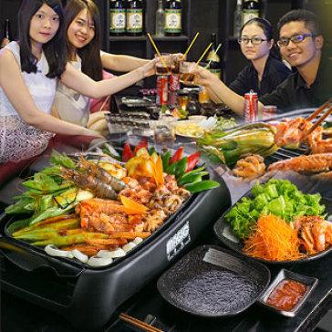Hot Deal - Set BBQ Nuong Tai Ban Danh Cho 2 - 3 Tai Miku Sushi