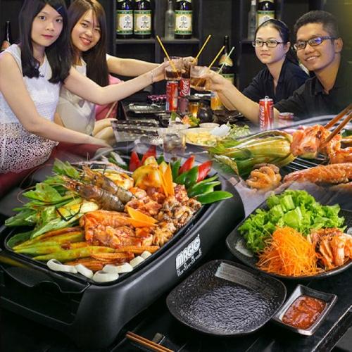 Set BBQ Nướng Tại Bàn Dành Cho 2 - 3 Tại Miku Sushi