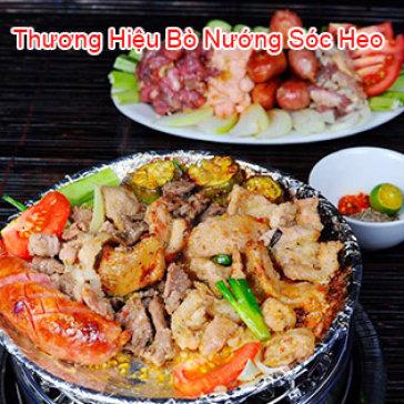 Hot Deal - Bo Nuong Soc Heo - Combo mon nuong Homemade lon cho 3-4 nguoi