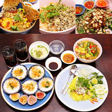 Hot Deal - 1 Trong 2 Combo Mien Trung Dac Sac Tai Nha Hang Cong Do