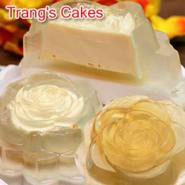 Hot Deal - Combo 02 Banh Jelly Nhan Flan Vi Dao & Cafe, Giao Hang Tan Noi - Trang's Cakes