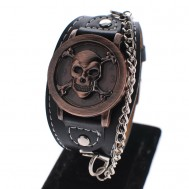 Đồng hồ vòng da nam Meishi