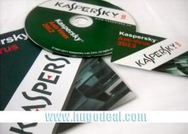 Kaspersky Antivirus 2012 bản quyền