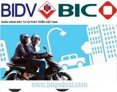 Bảo hiểm xe máy BIC của BIDV trong 2 năm