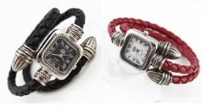 Đồng hồ vòng tay da sành điệu