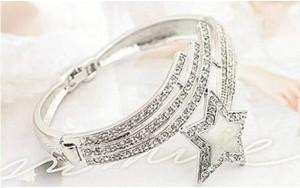 Vòng tay ngôi sao bạc