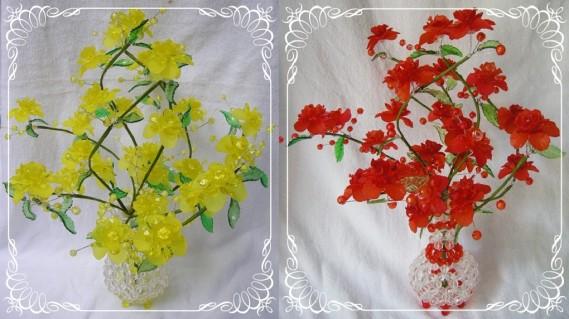 Bình hoa pha lê 30 cm x40 cm