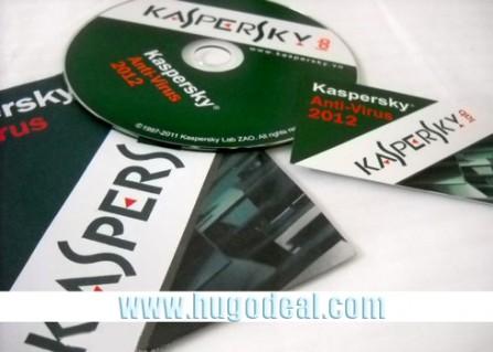 Kaspersky Antivirus 2013 bản quyền