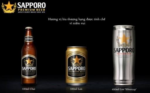 BIA SAPPORO 330ML(24 LON)