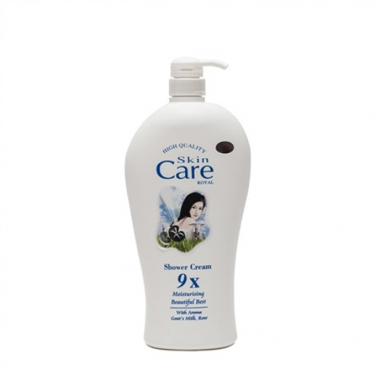Combo 02 Chai Sữa Tắm Dê Skin Care Royal 9X