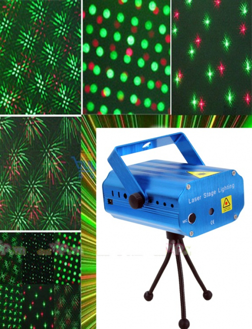 K Deal - Máy Chiéu Sao Mini Laser Stage Lighting