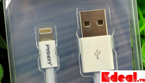 Cáp sạc Pisen cho 5/5s - Ipad- Iphone 6/6s