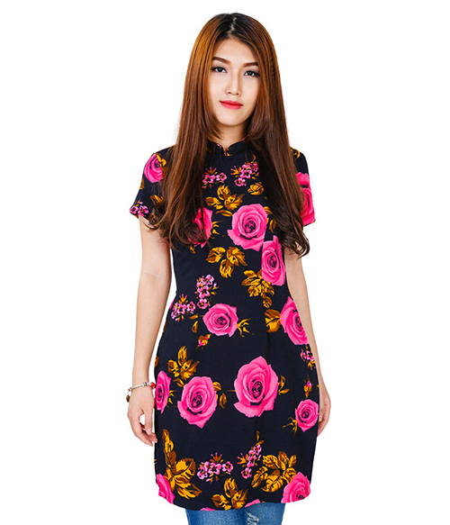 K Deal - Ao Dai Cach Tan Hoa Hong_K110 - 2718