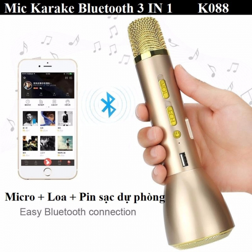 Micro Karaoke Bluetooth K088 3IN1