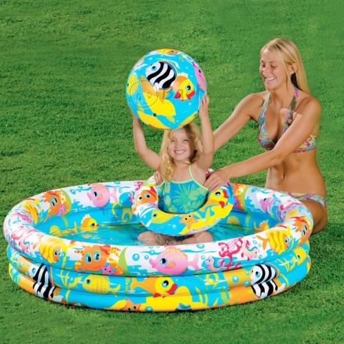 Bộ Phao Bơi Trẻ Em 3 Món.