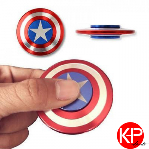 K Deal - Con Quay Hand Spinner Nhom American Captain - Fidget Spinner Hot 2017